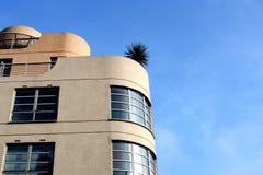 Art Deco Building. Art Deco period architecture against sky Stock Photo