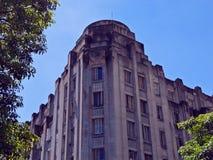 Art Deco Building Fotografía de archivo libre de regalías