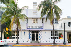 Art deco building in Miami Beach, Florida Royalty Free Stock Photography
