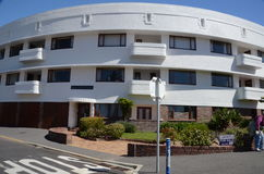 Art deco building in Seaforth, Cape Province Royalty Free Stock Photography