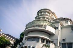 Art Deco Building Villa Isola Immagini Stock Libere da Diritti