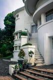 Art Deco Building Villa Isola Immagine Stock