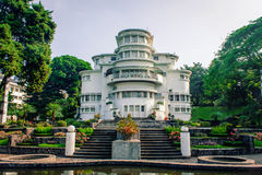 Art Deco Building Villa Isola  Royalty Free Stock Images