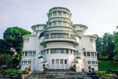 Art Deco Building Villa Isola  Stock Photo