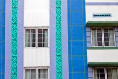Art deco buildings stock photos