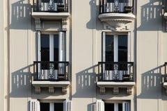 Art deco buildings of madrid, spain Stock Photo