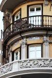 art deco buildings of madrid, spain Royalty Free Stock Image