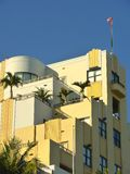 Art Deco buildings, Miami. Royalty Free Stock Photography