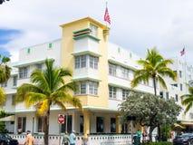 Art Deco Buildings Stock Photo