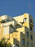 Art Deco byggnader, Miami Royaltyfri Fotografi