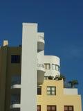 Art Deco byggnader, Miami Arkivfoto