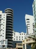 Art Deco byggnader, Miami Royaltyfri Bild