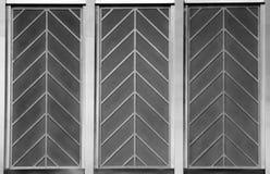 Art deco chevron pattern Stock Image