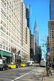 Art Deco Chrysler budynek w NY Fotografia Stock