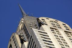 Art Deco Chrysler Building Stock Photo