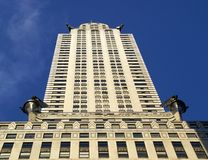 Art Deco Chrysler Building Royalty Free Stock Image