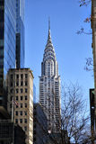 Art Deco Chrysler building Royalty Free Stock Photo