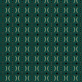 Art Deco Circle Pattern Stock Photos