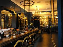 Art Deco Cocktails imagem de stock royalty free