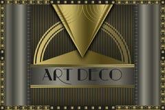Art deco concept Stock Photos