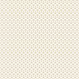 Art Deco Cubes Seamless Geometric Vector Pattern Gold stock image