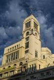 Art Deco-de bouw, Madrid, Spanje royalty-vrije stock fotografie