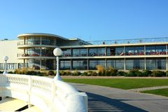 Art Deco De la Warr Pavilion ext?rieur Bexhill, le Sussex LE R-U photo stock