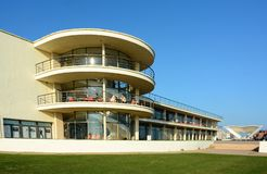 Art Deco De la Warr Pavilion ext?rieur Bexhill, le Sussex LE R-U images stock