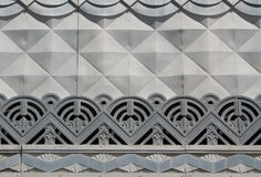Art Deco detail royalty free stock photography