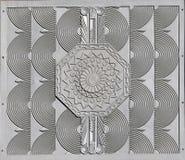 art deco detail tile Στοκ Φωτογραφίες