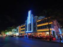 Art Deco District in Miami Beach, Florida fotografia stock