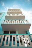 Art Deco District South Beach Miami arkivfoto