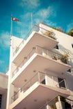 Art Deco District South Beach Miami Fotografía de archivo