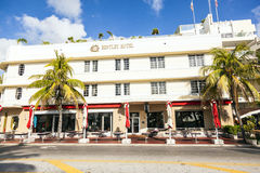 Art Deco district in South Miami Stock Images