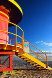 Art Deco en el mar Imagen de archivo libre de regalías