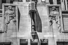 Art Deco Exterior Lizenzfreie Stockbilder