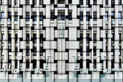 Art Deco facade Royalty Free Stock Image