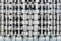 Art Deco facade. Abstract composition of an Art Deco building facade royalty free stock image