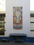 Art deco facade in San Francisco Royalty Free Stock Image