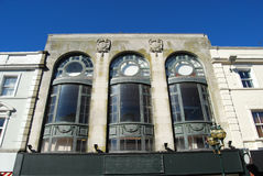 Art Deco facade Royalty Free Stock Photo