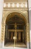 Art Deco fasada przy Fred F. Francuskim budynkiem w Manhattan Obrazy Royalty Free