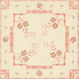 Art Deco Floral Background Patchwork Design Royalty Free Stock Photo
