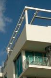 art deco Florydy historyczny Miami zdjęcia stock