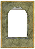 Art deco frame Stock Photos