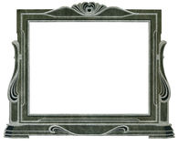 Art deco frame Stock Photo