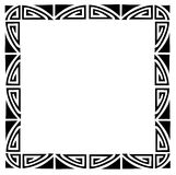 Art deco frame Stock Image