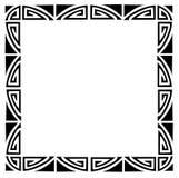 Art deco frame stock image