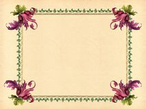Art deco frame Royalty Free Stock Photos