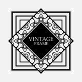 Art Deco frame stock illustration