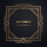 Art deco frame background Stock Image